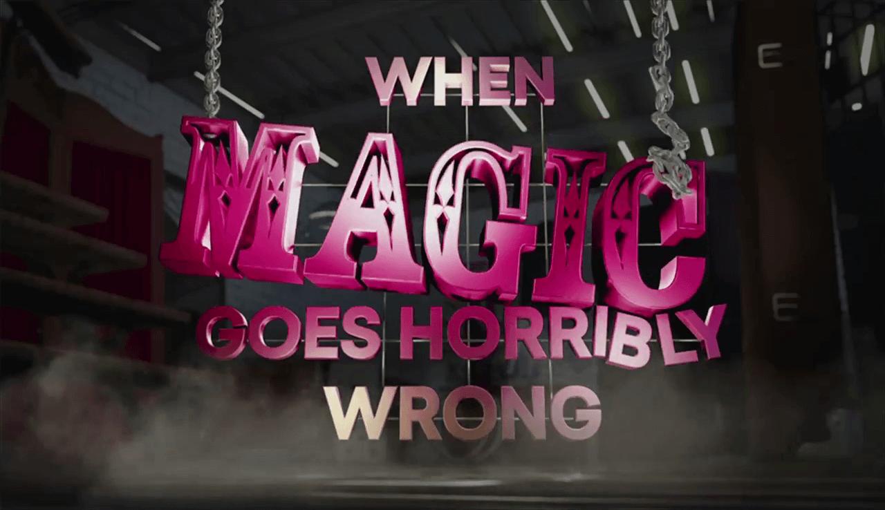 Når det går galt for en magikere